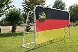 Fußballtor mit Torwand 300 x 200 cm
