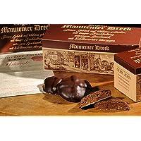 Mannemer-Dreck 6 er Karton mit Edelkuvertüre überzogene Lebkuchen Art Die schokoladige Geschenkidee !