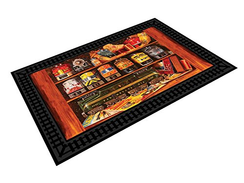 Lionel Well Stocked Shelves Welcome Mat Insert - Insert Mat