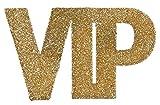 Santex 4600–3, confezione di 6grandi Coriandoli glitterati. VIP Oro