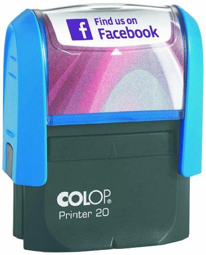 colop-printer-20-timbro-con-scritta-facebook-colore-viola