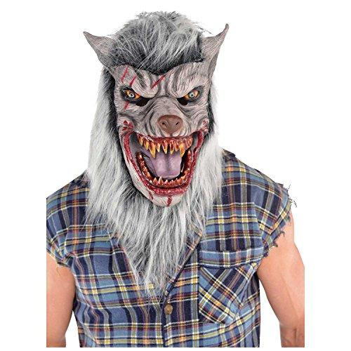 Kostüm Von London Werwolf - Amscan 848383 Costume Accessory Kostümzubehör, plastik, mehrfarbig