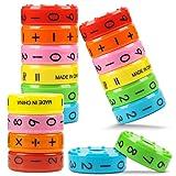 Educatief Speelgoed, Wiskundig Speelgoed 3 Pcs, Wiskundig Rekenen Leren Leren Kinderen Educatieve Puzzel, Cijfer Symbolen Vaardigheden Wiskunde Speelgoed Voor Kinderen Cadeau