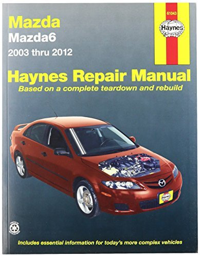 Descargar Libro Haynes Repair Manuals Mazda6, '03-'11 (61043) by Haynes Repair Manuals de Unknown