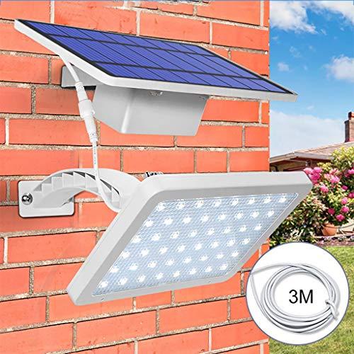 Aplique Exterior-TianranRT★ 48Led Luz Tráfico Solar
