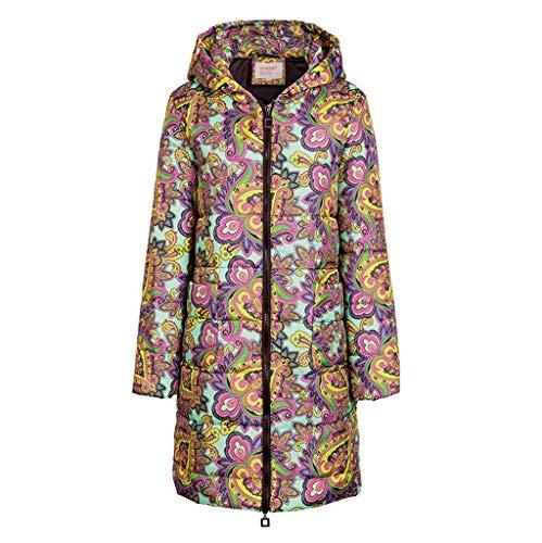 DOLDOA Winter Outwear Hooded Zipper Mantel Damen Warm Slim Jacke Dicke Parka Mantel Jacke