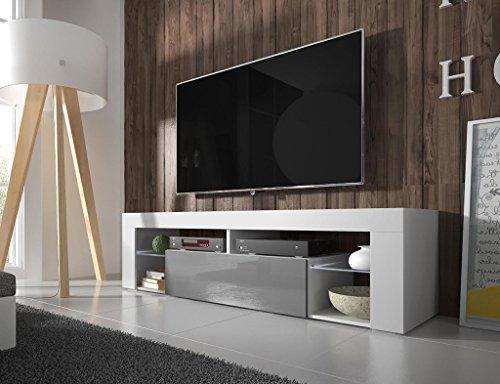 Tv schrank weiß hochglanz 120  TV Schrank Lowboard: Amazon.de