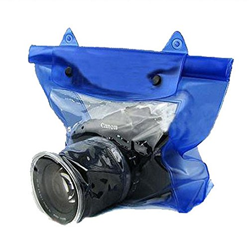 Noise Blue Waterproof Underwater Camera Housing Case Dry Bag For SLR DSLR Camera Nikon, Sony, Canon  available at amazon for Rs.199