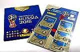 FIFA World Cup Russia 2018 Multi-Pack (35 Sticker) plus Sticker Album