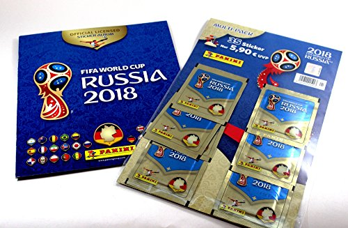 Sticker Fifa Album Wm (FIFA World Cup Russia 2018 Multi-Pack (35 Sticker) plus Sticker Album)