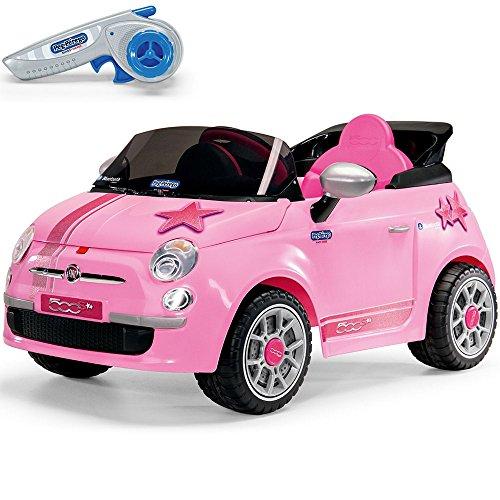 *Peg Perego Fiat 500 Elektroauto optional mit Fernbedienung, Modell :Fiat 500 Star (+Fernbedienung)*