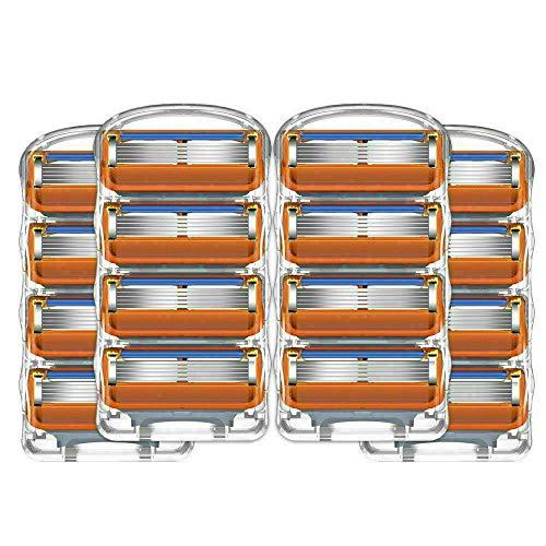 Para Gillette Fusion ProGlide - Cuchillas recambio