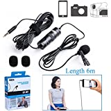 Boya By-M1 Omni Directional Camera Lavalier Condenser Microphone For Canon Nikon Sony iPhone 6 Plus Dslr Camcorder Audio Recorder