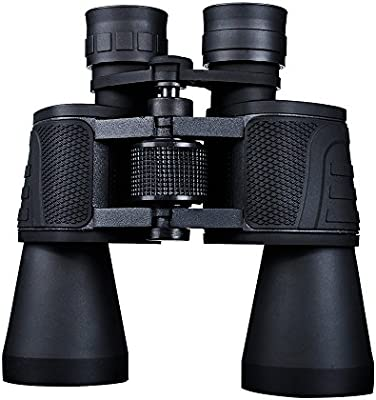 USCAMEL® ancha 10x50 ángulo HD prismáticos de la caza telescopioBinoculars profesional - Negro
