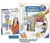 tiptoi Ravensburger Englisch Buch | Wir Lernen Englisch + Ravensburger 007004 Stift Player