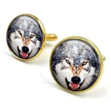 Butterfly N Beez Bronce Antiguo Gemelos de Lobo| Gemelos Wolves| Lobos| Gemelos| Joyas de Lobo|...