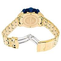Invicta 19173 - Reloj para hombres, correa de acero inoxidable chapado color dorado de Invicta