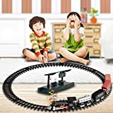 Best Various Electric Train Sets - Light Sound Effects Electric RC Train Toy,Mamum Conveyance Review