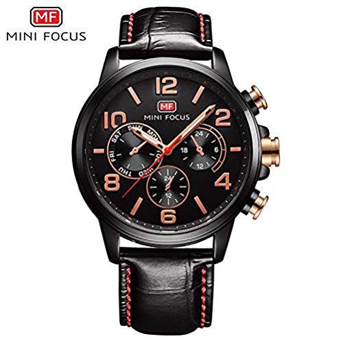 xisnhis schöne Uhren Mini - fokus / mf0001g männer Quarz auf japanische Bewegung kleine DREI - Leder -