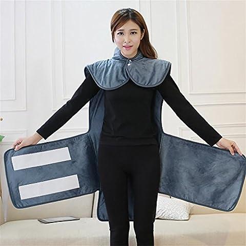 XL-3-La Original Puff complemento eléctrico calefacción calefacción eléctrica calefacción eléctrica ropa suficientemente caliente bolsos cinturón , long, long and green