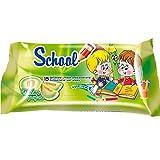 27x Travelpack School MELONE Feuchttücher 15 Stück mit Vitamin E und Glycerin