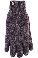 1 Paar Herren echte Wärme Inhaber Heatweaver thermische Handschuhe TOG 2.3 Burgund S/M