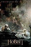 Close Up The Hobbit Poster Die Schlacht der fünf Heere Aftermath (61cm x 91,5cm) + 2 St. Schwarze Posterleisten mit Aufhängung