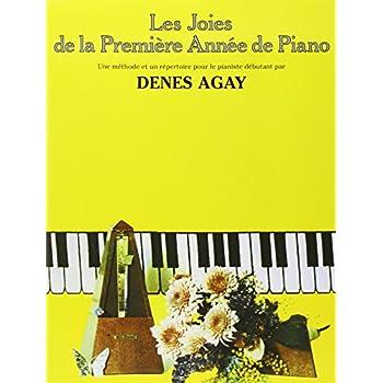 Les Joies de la première année de piano