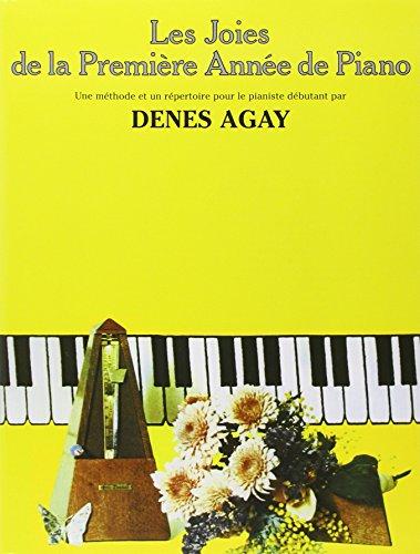 Les Joies de la première année de piano par Denes Agay