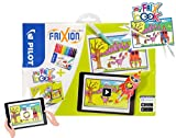 FriXion Colors interaktiver Geschenkkoffer - My FriX Book Set, bestehend aus 12 Filzstiften (radierbar) und Malbuch - Zusammen interaktiv mit der my FRIX App