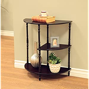 Expresso : Frenchi Home Furnishing Multi Tiered End Table, Expresso