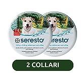 2 confezioni Collare Seresto di Bayer per cani fino a 8 Kg contro pulci e zecche
