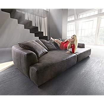 Riesensofa  Big Sofa Couch Garnitur XXL Megasofa Riesensofa Wohnlandschaft ...