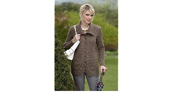 3e92e7f2c38f6f Stylecraft Life DK Jacket Knitting Pattern 8475  Amazon.co.uk  Kitchen    Home