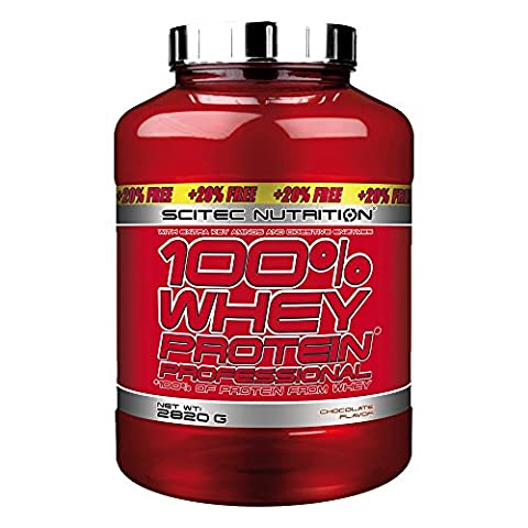 100% Whey Protein Professional (2.820Kg) Scitec - Chocolat-Noix de