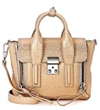 Borsa a mano 3.1 Phillip Lim Pashli mini satchel in pelle beige e oro rosa - 3.1 Phillip Lim - amazon.it