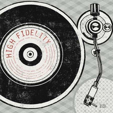 feelingathome-Impresi—n-artistica-Vintage-Record-Player-Analog-cm28x