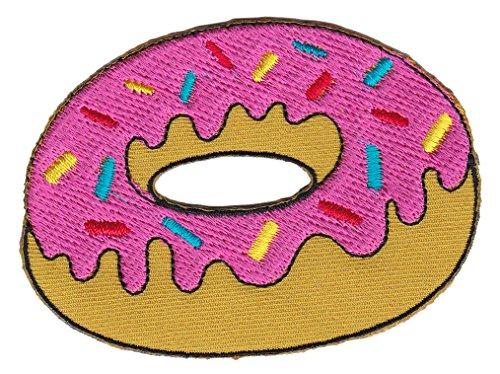 Donut Aufnäher Bügelbild
