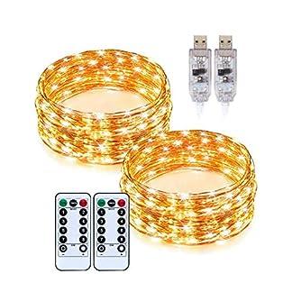 TaoTronics-Lichterkette-gelb
