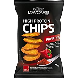 5 Beutel a 75g Layenberger LowCarb.one High Protein Chips Paprika