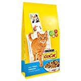 PURINA & registro; GO-CAT & registro; Gato adulto con atún, el arenque y Verduras añadido 10 kg de alimento seco (Pack de 10 kg)