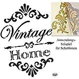 Pochoir rustique shabby chic home sweet home style vintage c ur format a4 297 x 210 mm - Pochoir shabby chic ...