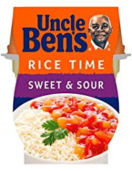 Uncle Ben's Rice Time Sweet & Sour Pot Snack, 300g