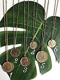 Münzkette gold verschiedene Varianten Kette Münzen Coin Necklace