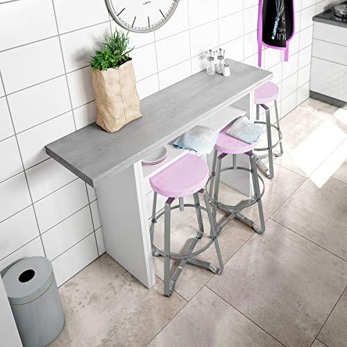 Tavolo Cucina Consolle.Habitdesign 0l4587 A Tavolo Consolle Pop Up Tavolo Da