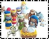 figuras Belén, NAVIDAD, NACIMIENTO JESÚS, BELÉN AMIGURUMI NAVIDAD PERSONALIZABLE ( Bebé, crochet, ganchillo, muñeco, peluche, niño, niña, lana, mujer, hombre ) MODA, ORIGINAL, FANTASÍA
