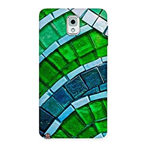 Delighted Green Footpath Back Case Cover for Galaxy Note 3