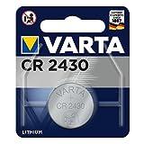 Varta Batterien Electronics CR2430 Lithium Knopfzelle 3V Batterie 1er Pack Knopfzellen in Original 1er Blisterverpackung