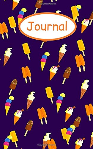 Journal: Ice cream; 100 sheets/200 pages; 5