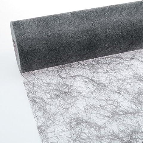 Sizoflor Tischband dunkelgrau 20 cm Rolle 25 Meter - 60-200-25-032